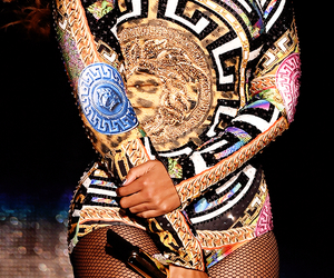 beyoncé, Versace, and flawless image