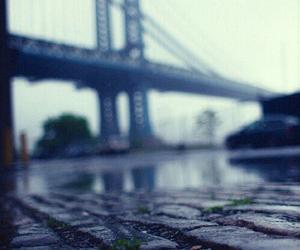 rain, photography, and bridge image