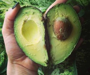 avocado, food, and fruit image