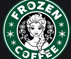 frozen, starbucks, and coffee image