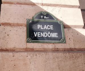 luxe, paris, and place vendome image