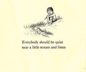 quotes, quiet, and stream image