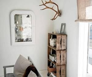 interior, white, and design image