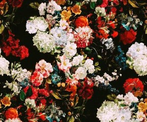 flowers, wallpaper, and art image