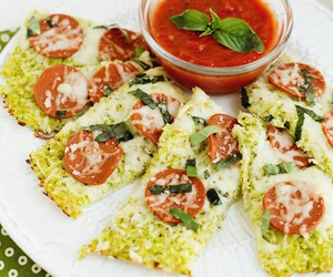 basil, cauliflower, and healthy image
