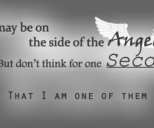 angels, quotes, and sherlock holmes image