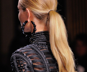 fashion, hair, and Balmain image