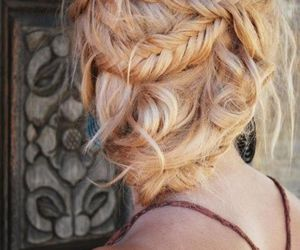 beautiful, braid, and hairstyles image