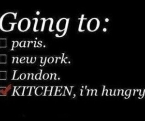 hungry, kitchen, and london image