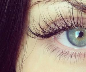 eye, eyes, and lashes image