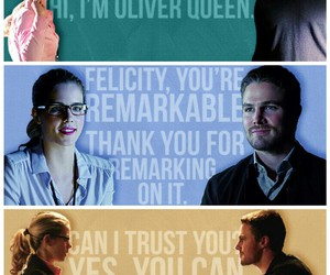 arrow, season 1, and olicity image