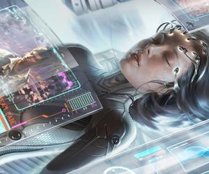 art and cyberpunk image