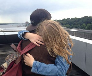 couple, grunge, and cute image