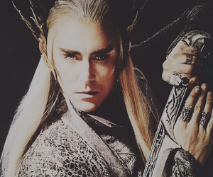 the hobbit, thranduil, and king image