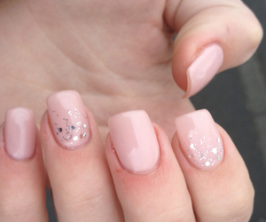 manicure, pink, and princess image