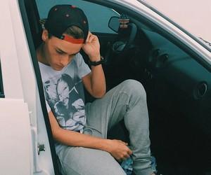 boy, car, and fashion image