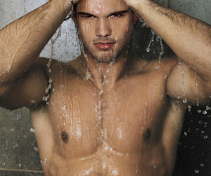 handsome, sexy, and Taylor Lautner image