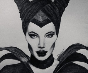 black and white, drawing, and pencils image