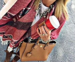bag, coffee, and lovely image