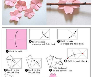 origami and sakura image