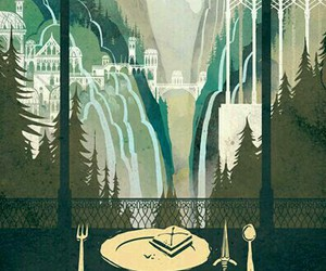 LOTR, rivendell, and lord of the rings image
