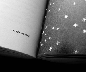 books, harry potter, and stars image