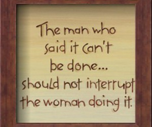 man, quote, and woman image