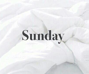 Sunday, bed, and white image