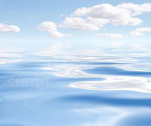 blue, clouds, and landscape image
