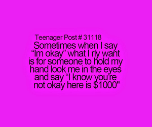 quote, teenager, and teenagerpost image