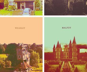 harry potter, malfoy, and weasley image