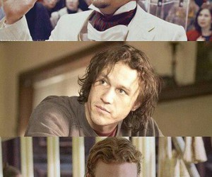 actor, heath ledger, and movie image