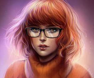 art, scooby doo, and velma image