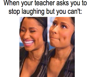 funny, laugh, and teacher image