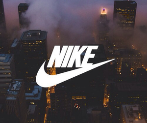 nike, city, and wallpaper image