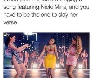 nicki minaj, ariana grande, and funny image
