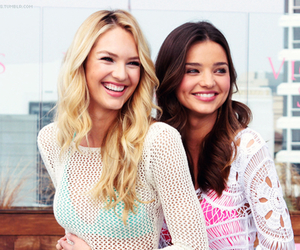model, miranda kerr, and Victoria's Secret image