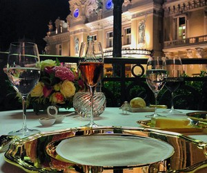 dinner, flowers, and luxury image