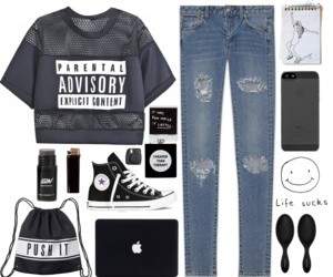 cool, fashion, and grunge image