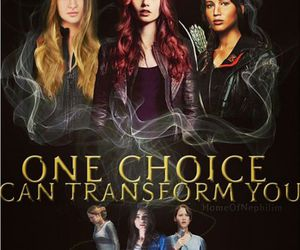 the mortal instruments, divergent, and books image