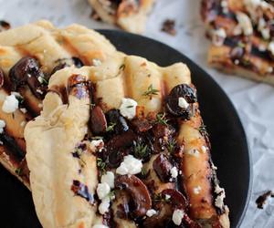 bread, pizza, and dough image