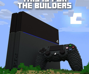 builders, ps4, and minecraft image