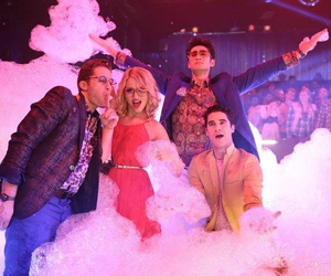 glee, darren criss, and quinn fabray image