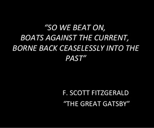 boats, fitzgerald, and quote image
