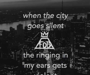 background, fall out boy, and FOB image