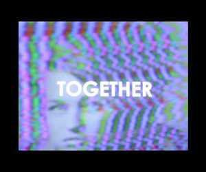 electro, music, and together image