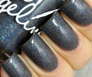 gris, uñas, and nails art image