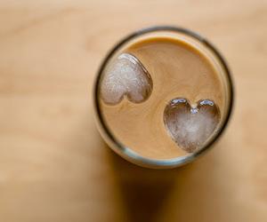 coffee, heart, and ice image