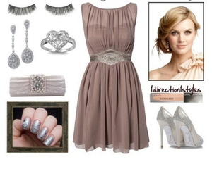 classy, dress, and shoes image