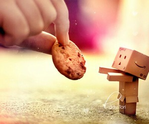 adorable, cookie, and danbo image